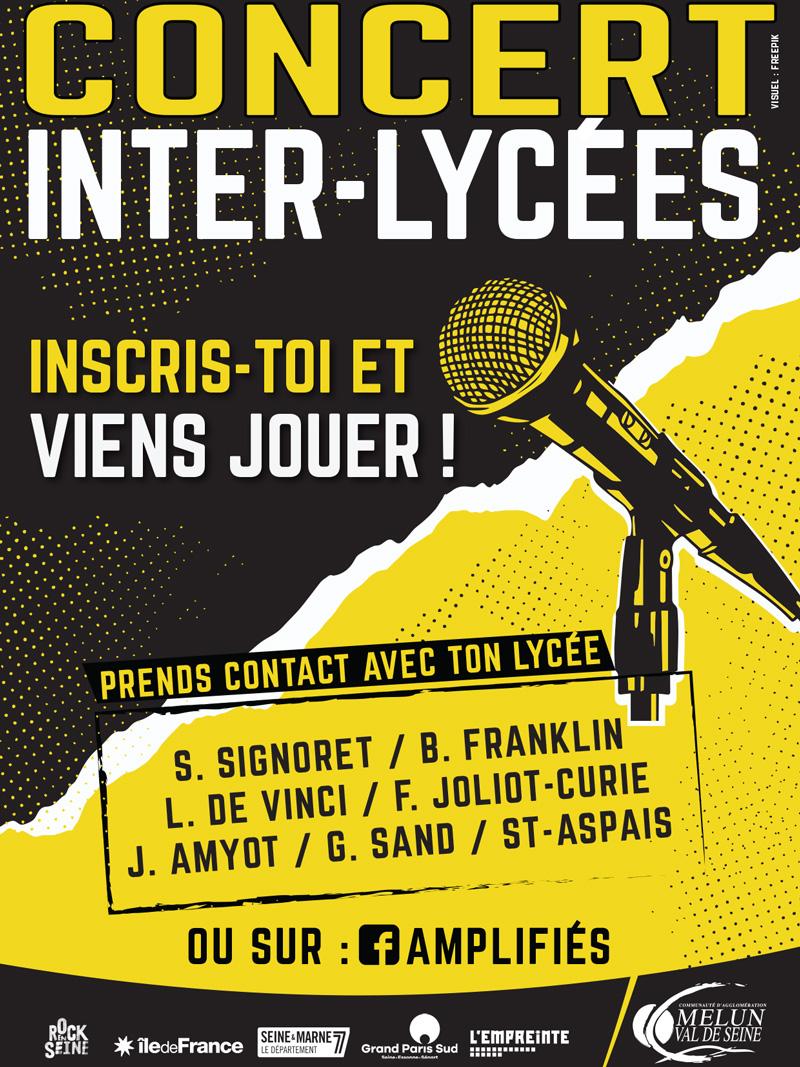 Le concert Inter-Lycées, édition 2020-2021