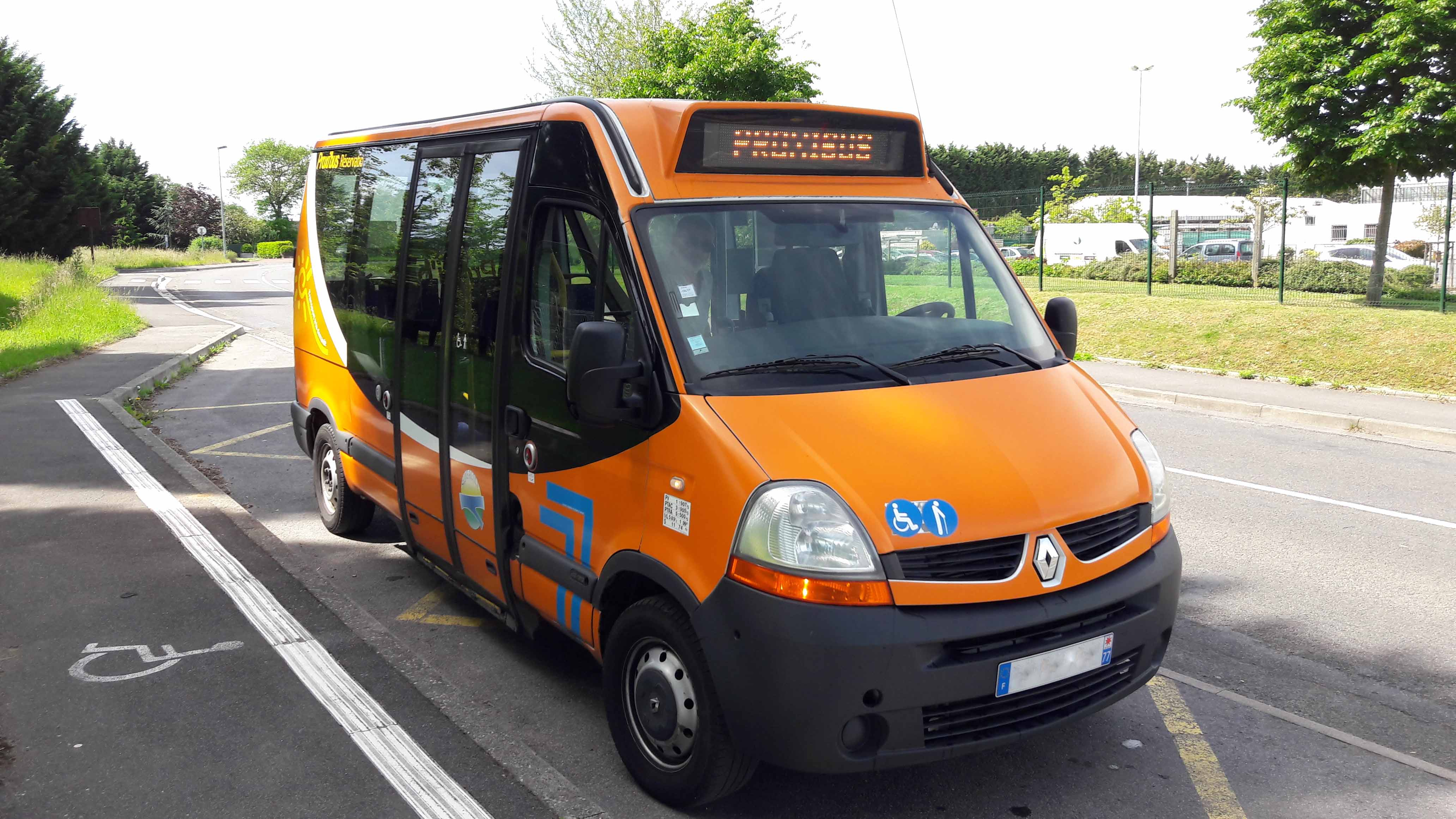 Un service de Transport A la Demande à Melun Nord