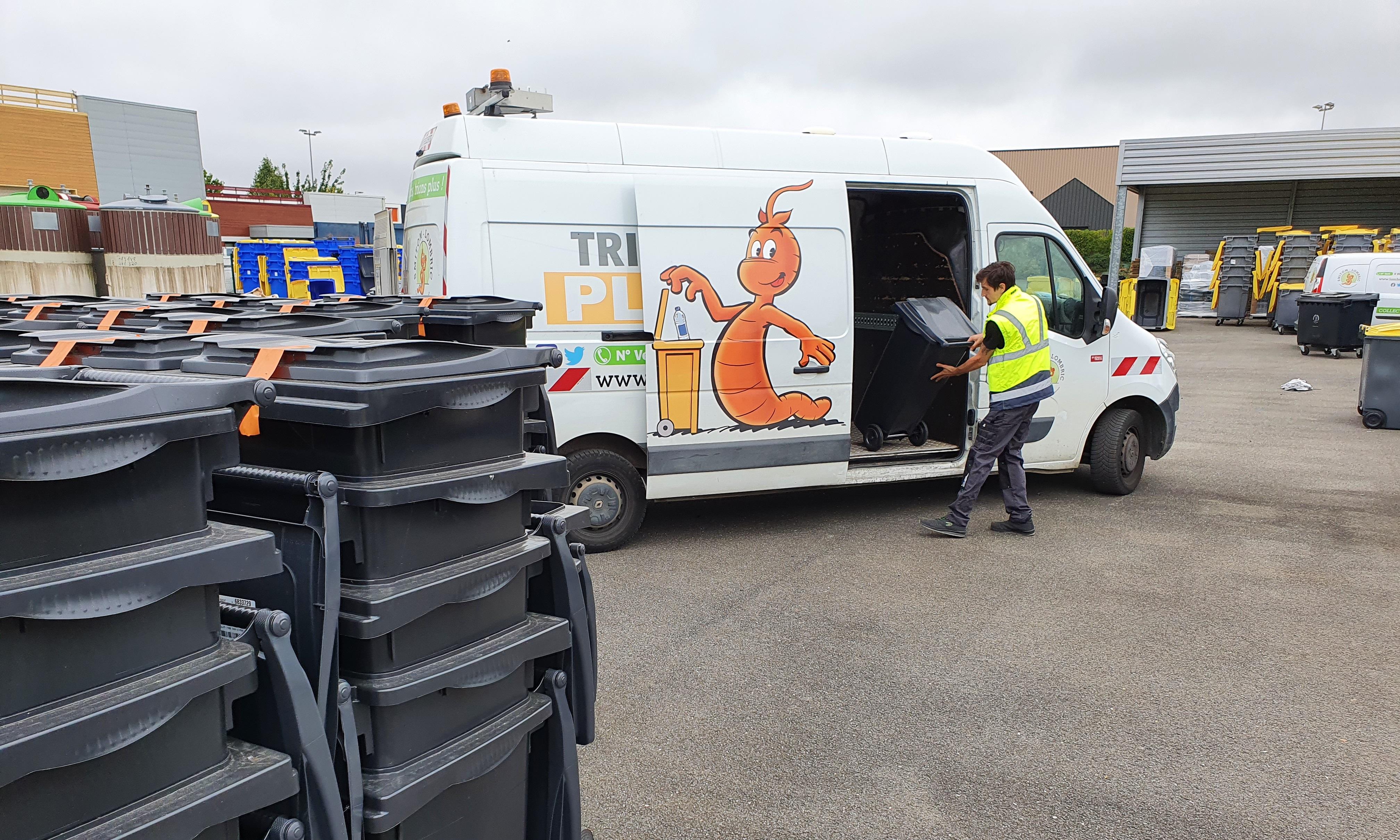 Les habitants de Maincy seront bientôt équipés de conteneurs du SMITOM-LOMBRIC !