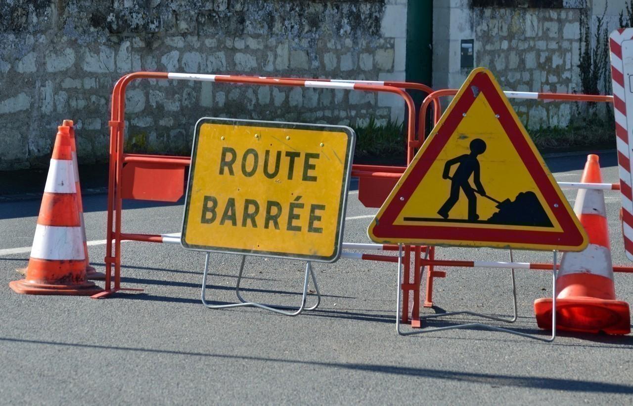 Travaux d'assainissement rue Creuse au Mée-sur-Seine