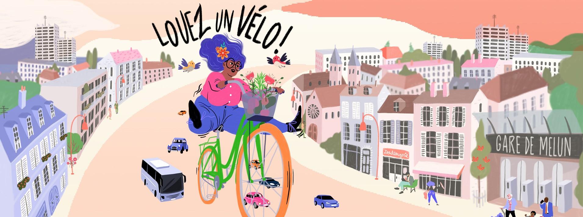 Louez votre vélo avec Melivélo